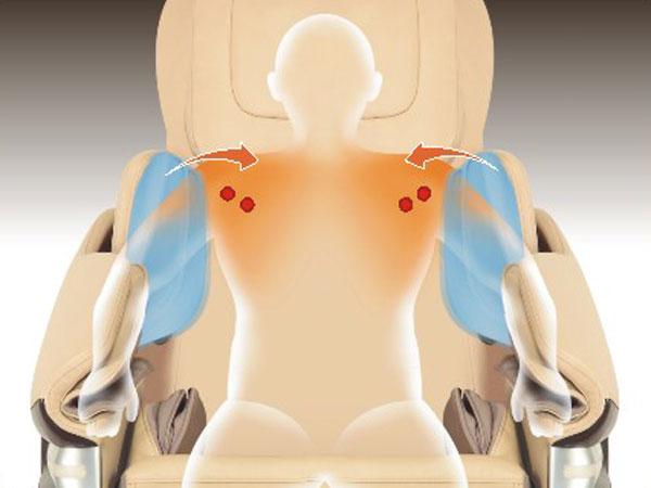 Masaža grudi i ramena
